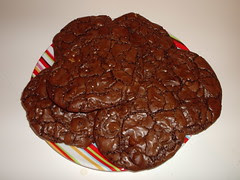 Outrageous Triple Chocolate Cookies(2)