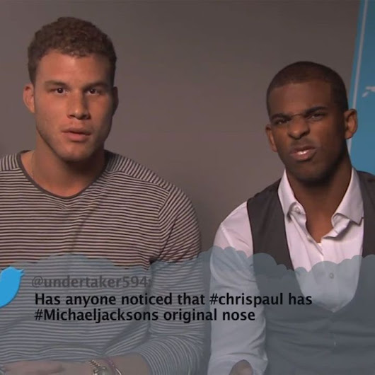 NBA Players Read Mean Tweets About Themselves [VIDEO]