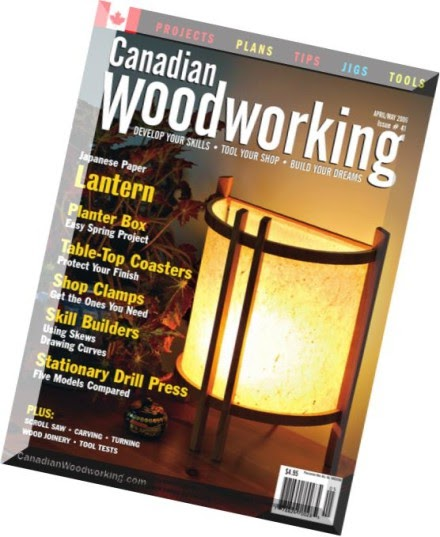 Canadian Woodworking Magazine Free Woodworking Plans