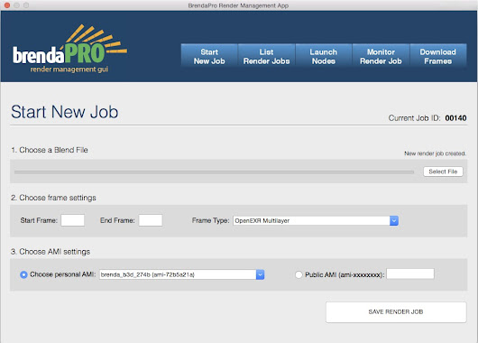 Front End GUI Job Manager App for Brenda in Development!