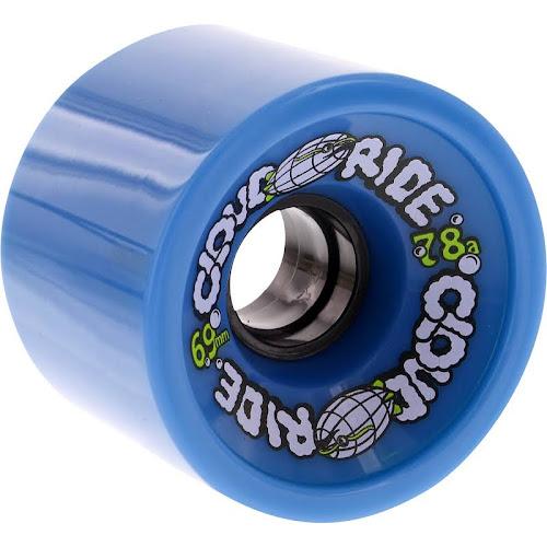 Cloud Ride Cruiser 69mm 78a Longboard Wheels - Blue