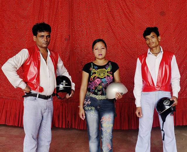 Raj Mahal Circus -Trio