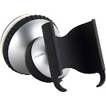 Dual Joint Car Clamp Windshield Suction Cup Cell Phone Holder Car Mount, Black