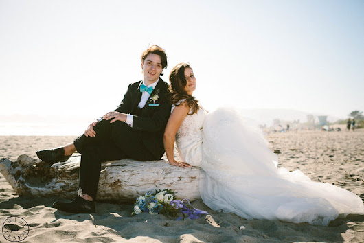 Katie & Tristan tie the knot at Stinson Beach!