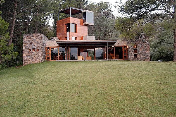 Casa miguel angel roca 2 etapa tecno haus for Casa de campo arquitectura