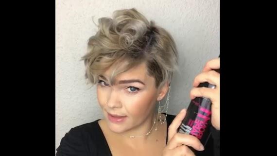 Locken Frisur Kurz Frauen