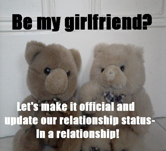 Be My Girlfriend In A Relationship Free For Couples Ecards 123