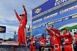 Christopher Bell outlasts Keselowski for Xfinity win at New Hampshire