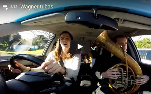 Wagner Tubas In The Car - Auckland Philharmonia Orchestra