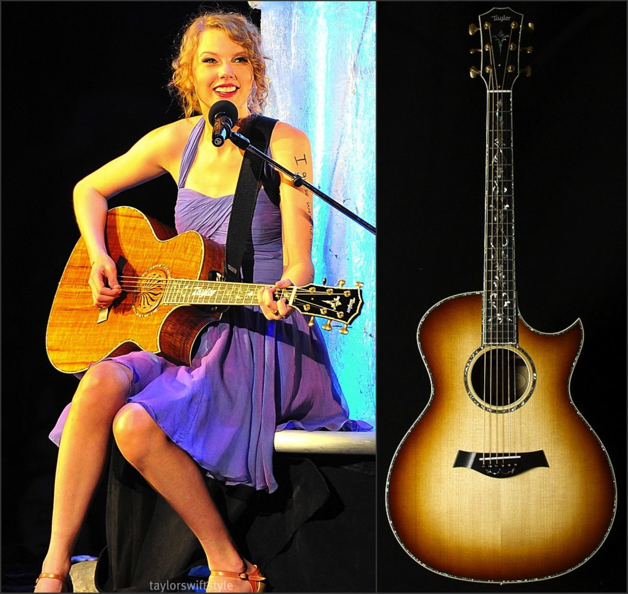 Miniature Acoustic Guitar Taylor Swift - OZMiniGuitar |Taylor Swifts Acoustic Guitar