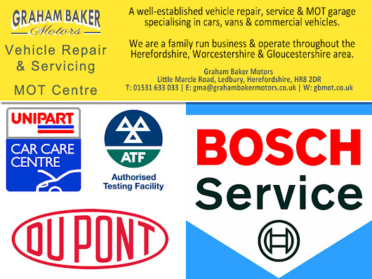 Graham Baker Motors, Accreditations, Bosch, AA, RAC