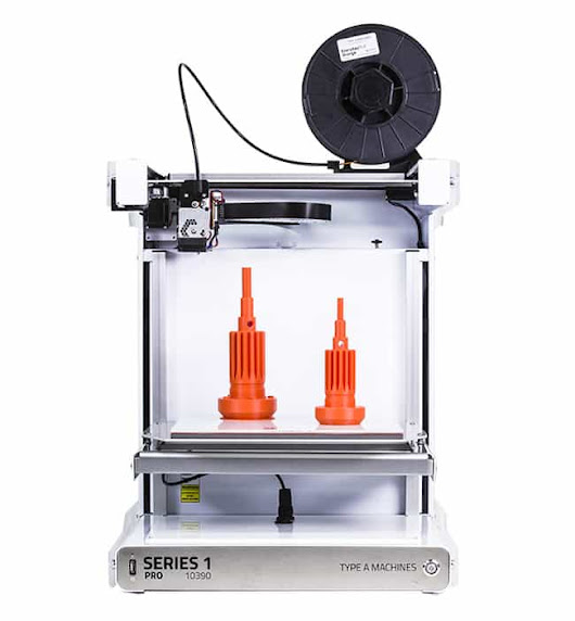 Type A Machines Series 1 Pro 3D Printer - Becoming 3D