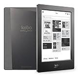 Kobo Aura H2O 6.8-Inch Comfort Light, Water Resistant E-Reader (Black)