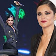 Belle of the Jingle Ball! Cheryl Cole outshines everyone in low-cut jumpsuit as she joins JLS and Little Mix at Capital FM Christmas gig