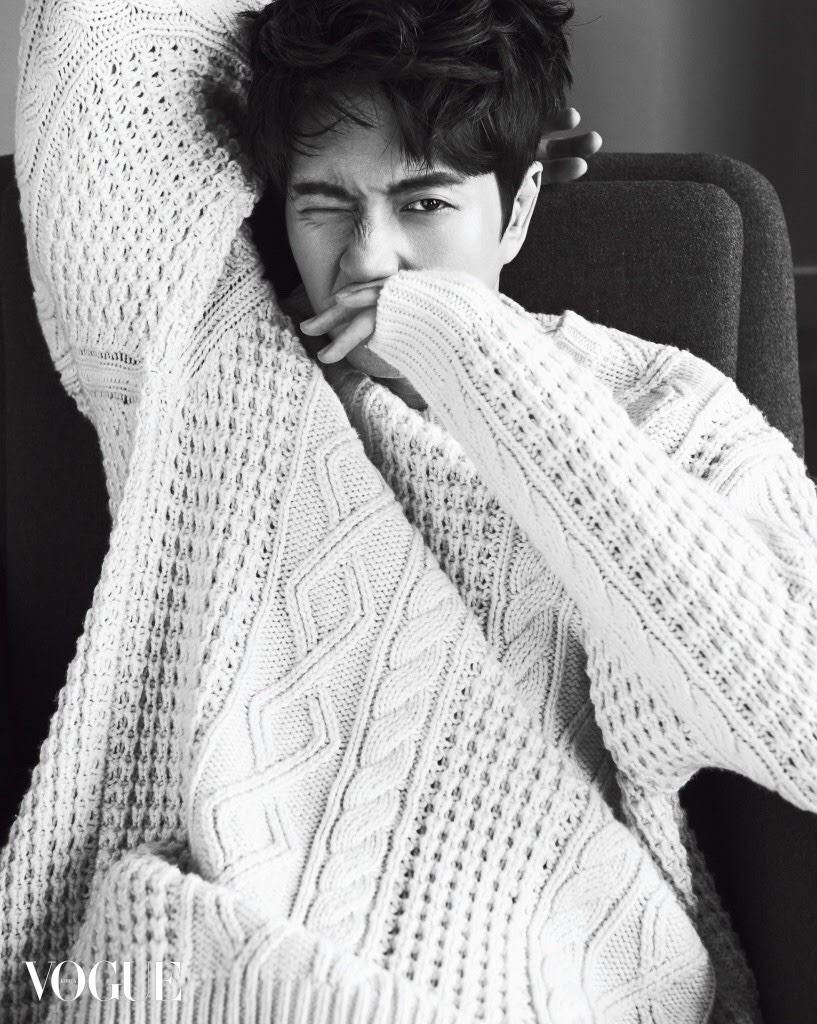 Park Hae Jin for Vogue Korea December 2015. Photographed by Kim Young Joon