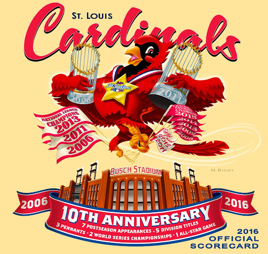 "St. Louis Cardinals on Twitter: ""It's here! Check out the beautiful 2016 Official Scorecard, on sale for #OpeningDaySTL -  """