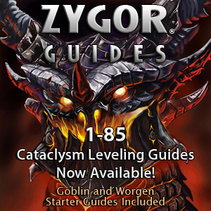 Zygor Alliance & Horde World of Warcraft Leveling & Dailies Guides