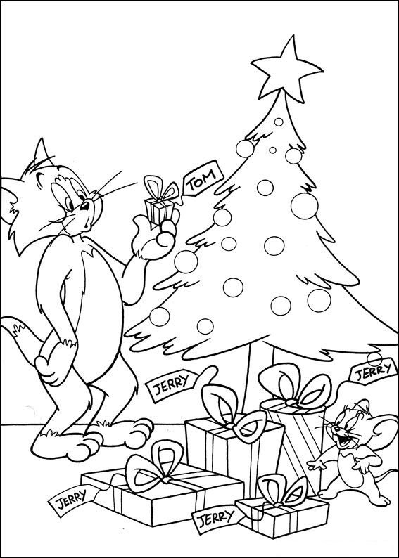 Index Of Coloriagesheros Tvtom And Jerry