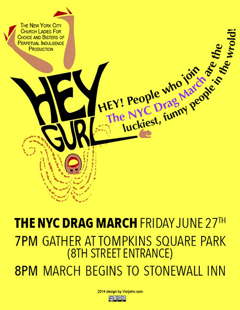 2014 New York City Drag March