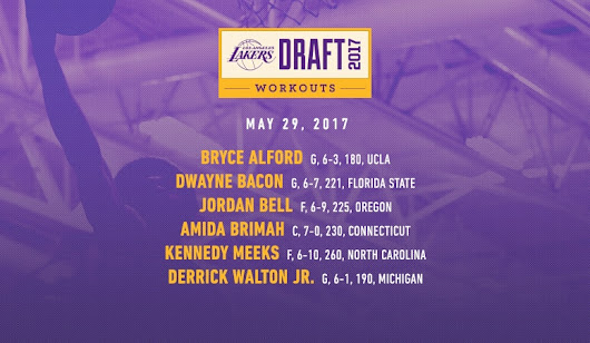 Lakers Draft Workouts: May 29, 2017 | Los Angeles Lakers
