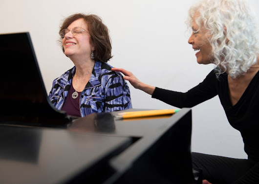 More older adults learn it's never too late to pick up a musical instrument