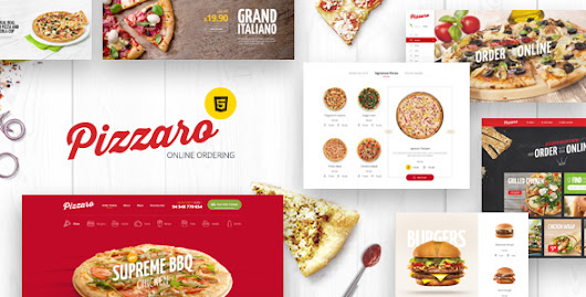Download Pizzaro - Fast Food & Restaurant HTML template nulled | OXO-NULLED
