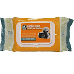 Multipet 68505 Groom Genie All Purpose Daily Clean Pet Wipes, 100-Count