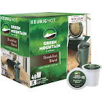 Green Mountain Coffee Breakfast Blend K-Cup - 48 count