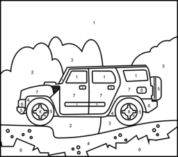 Vehicles Coloring Online