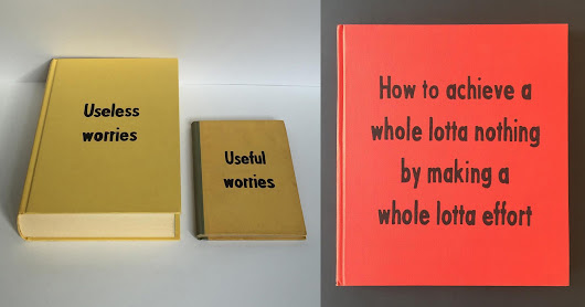 Art Therapy: Fictional Self-Help Book Titles Painted by Johan Deckmann