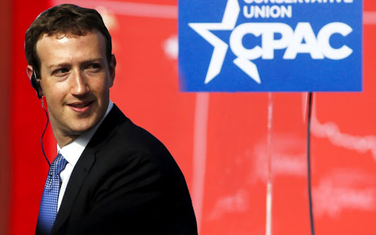Facebook gave $120,000 to CPAC, half in cash and half in-kind contributions, Daily Beast reports