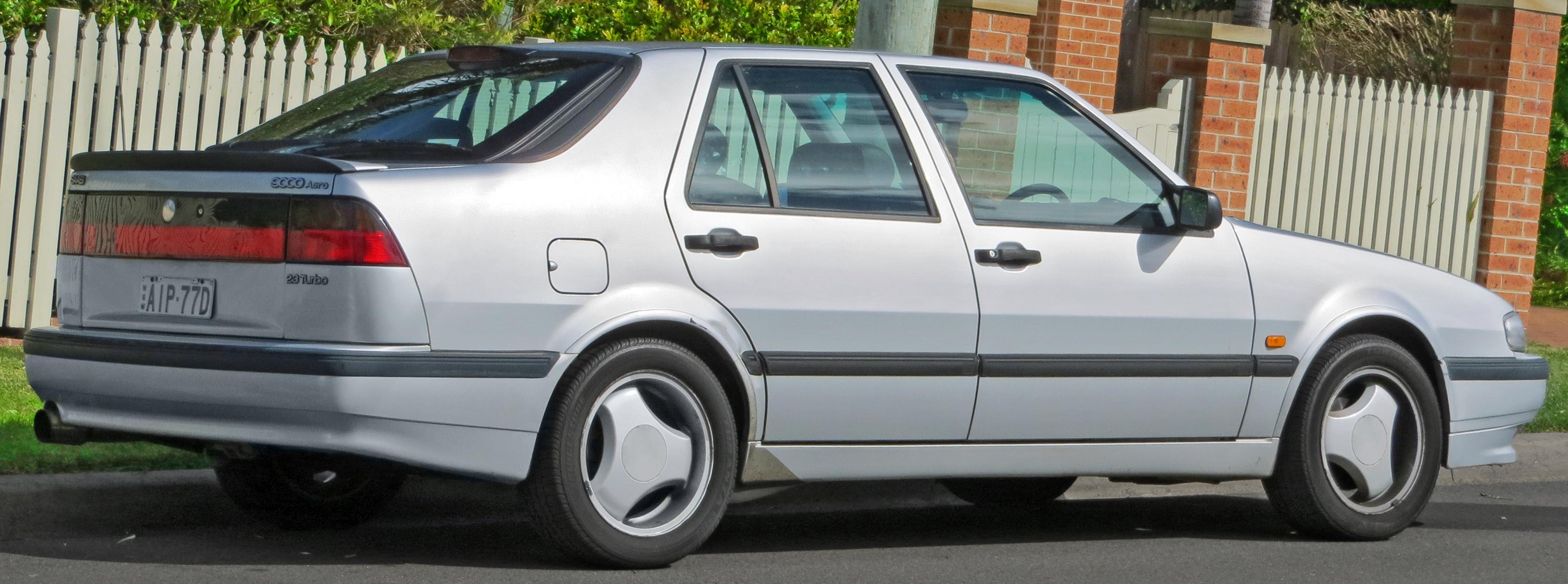 File:1997 Saab 9000 Aero 2.3 Turbo hatchback (2012-09-01 ...
