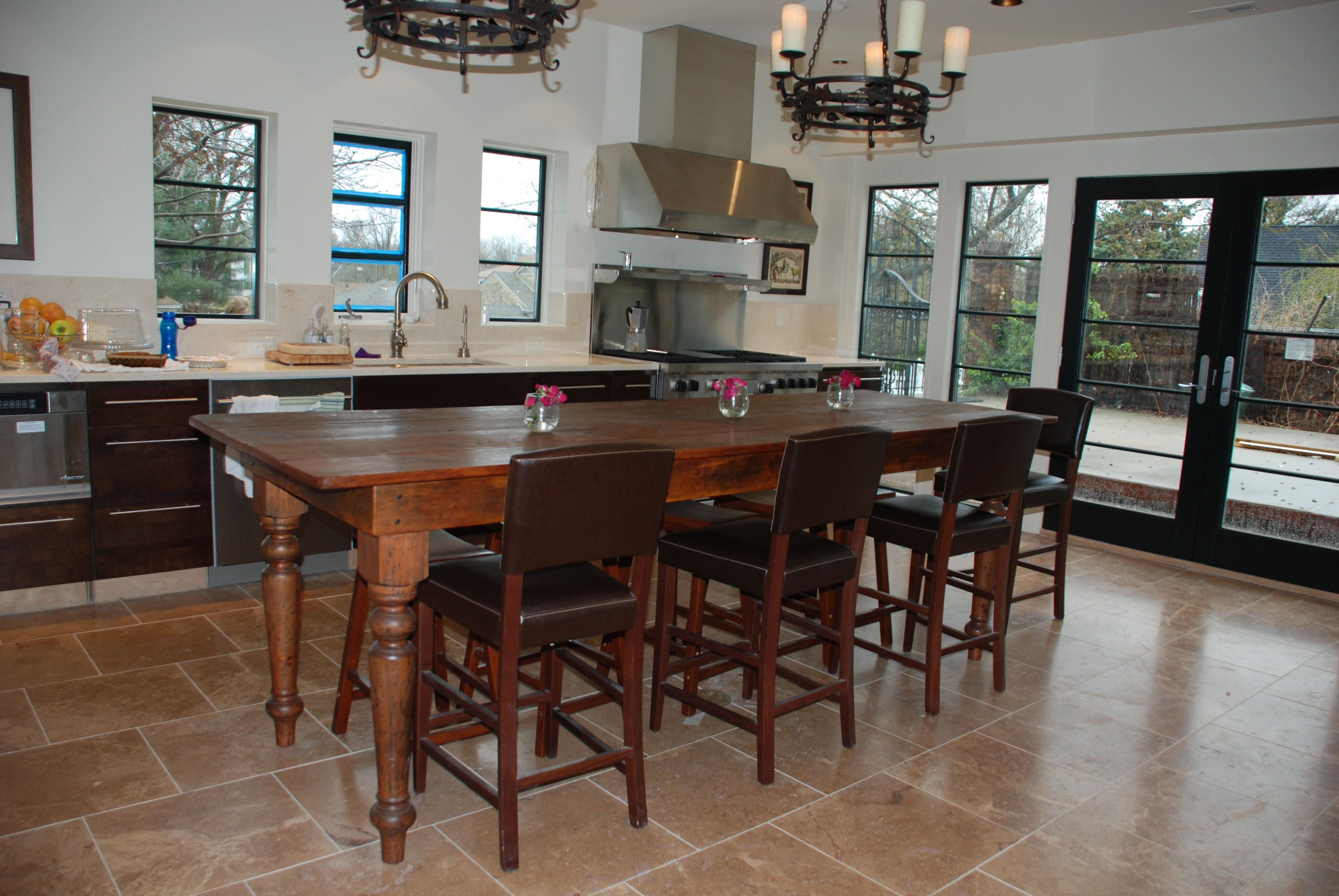 Top custom kitchen island table made with 2 thick eastern white pine  3872 x 2592 · 4714 kB · jpeg