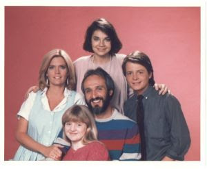 Then and now...Family Ties!