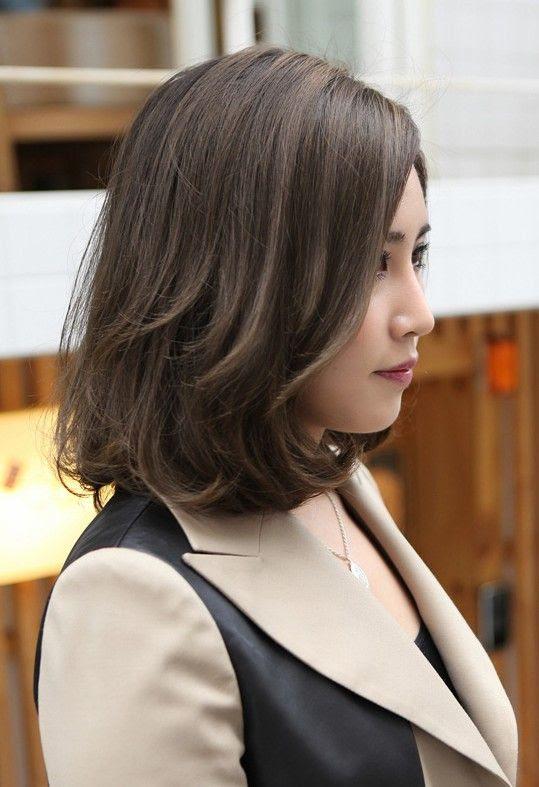 Korean Short Hair With Bangs Curly Bpatello