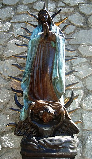 English: Our Lady of Guadalupe Church, Naucalp...