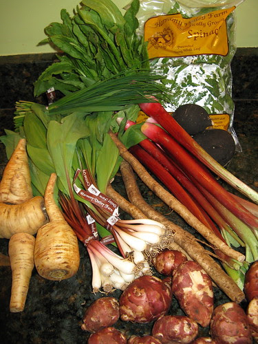 What's in CSA box #1 '09