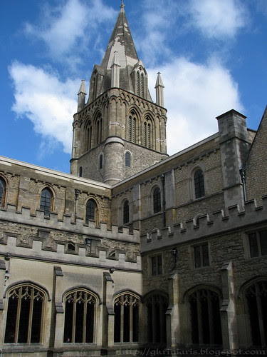 Christ Church Cathedral's spire