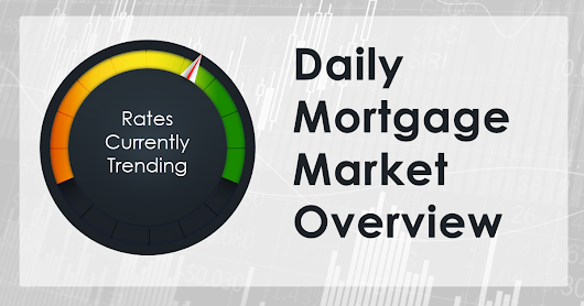 Mortgage rates trending slightly lower