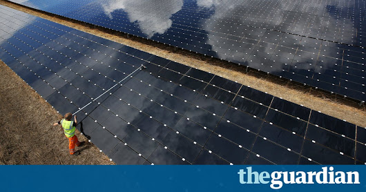 Cloud-tracking cameras to tackle dips in solar power output | Environment | The Guardian