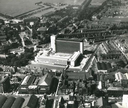 Newcastle Civic Centre, 31st July 1963