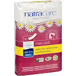 NATRACARE PADS NIGHT TIME MAXI