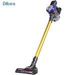 DIBEA D18 Cordless Vacuum Cleaner Handheld Stick Lightweight 9000 Pa Powerful Suction Gold