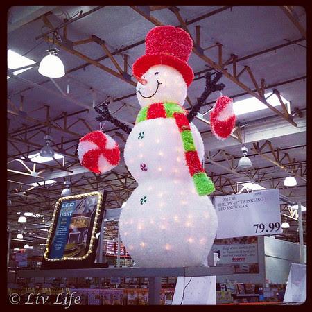 Costco Snowman
