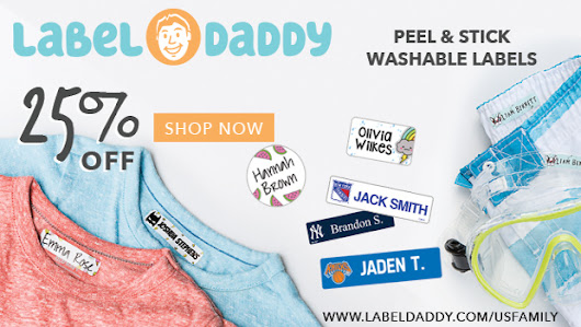 Label Daddy Summer Camp Labels - Cluttered Genius