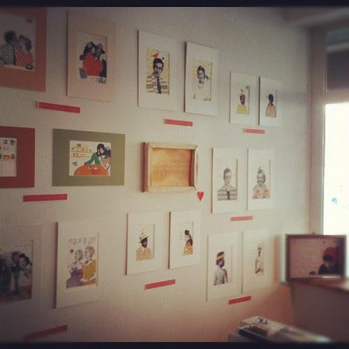 My small exhibition by la casa a pois