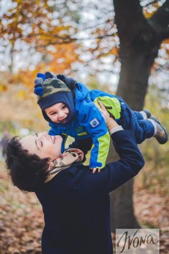 Тала с сыночком Макаром
