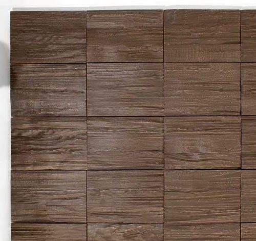 Decorative Wood Panels for Walls by Klaus Wangen - Split