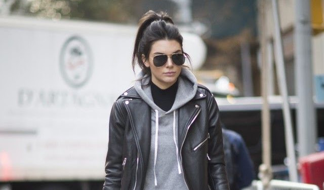 Black Jacket With Hood Outfit