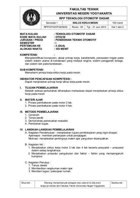 U myrpp teknologi otomotif dasar (oto239)